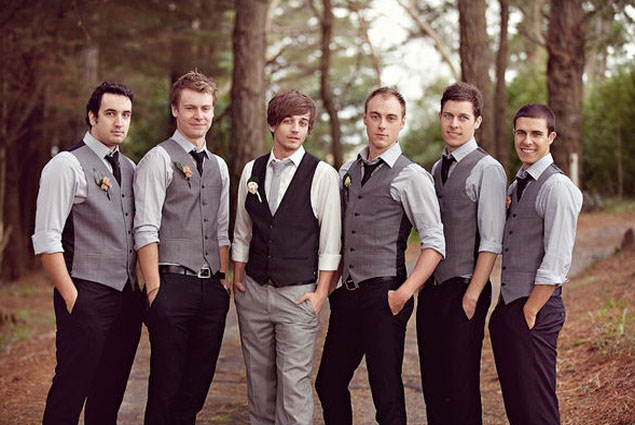 Groomsmen Attire Ideas On Pinterest