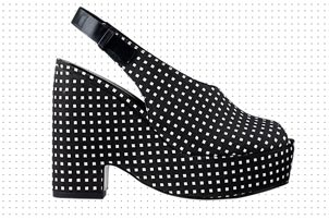 Black & White Wedge