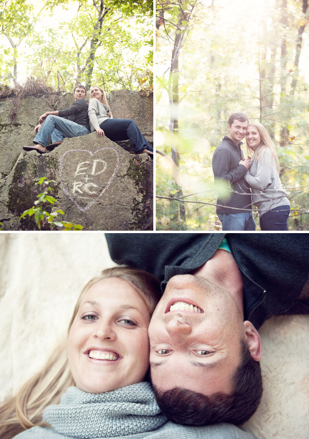 Woodsy Engagement Shoot