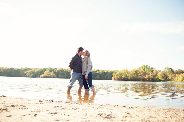 Lake Engagement Shoot
