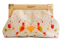 Paint Splatter Clutch