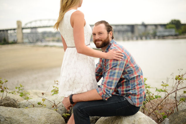 Beach Engagement Photos