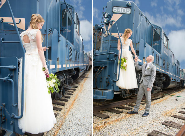 Railroad Wedding Shoot