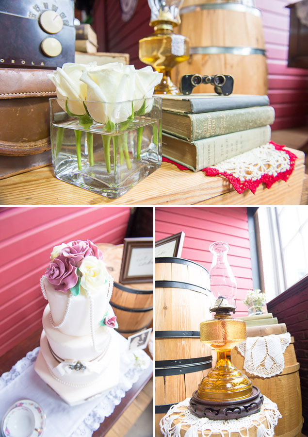 Rustic Railroad Themed Wedding