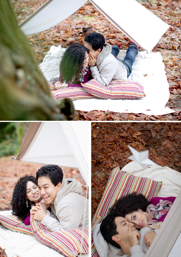 Tent Engagement Shoot