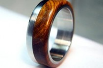 Wood Wedding Ring