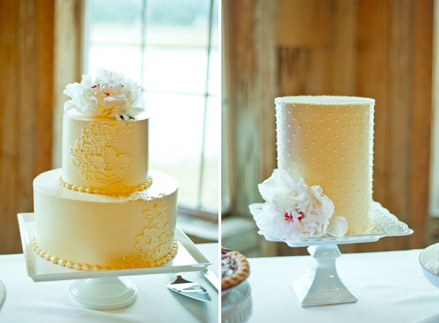 Pale Yellow Cake Inspiration