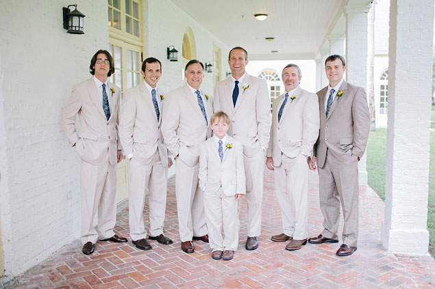 Tan Groomsmen Attire