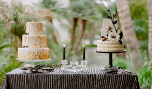 Gold Wedding Cake Inspiration