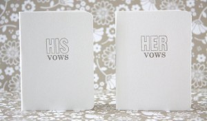 His & Her Vows Books
