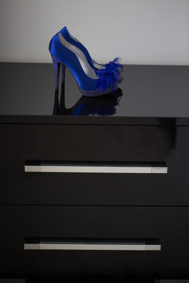 Blue Wedding Shoes
