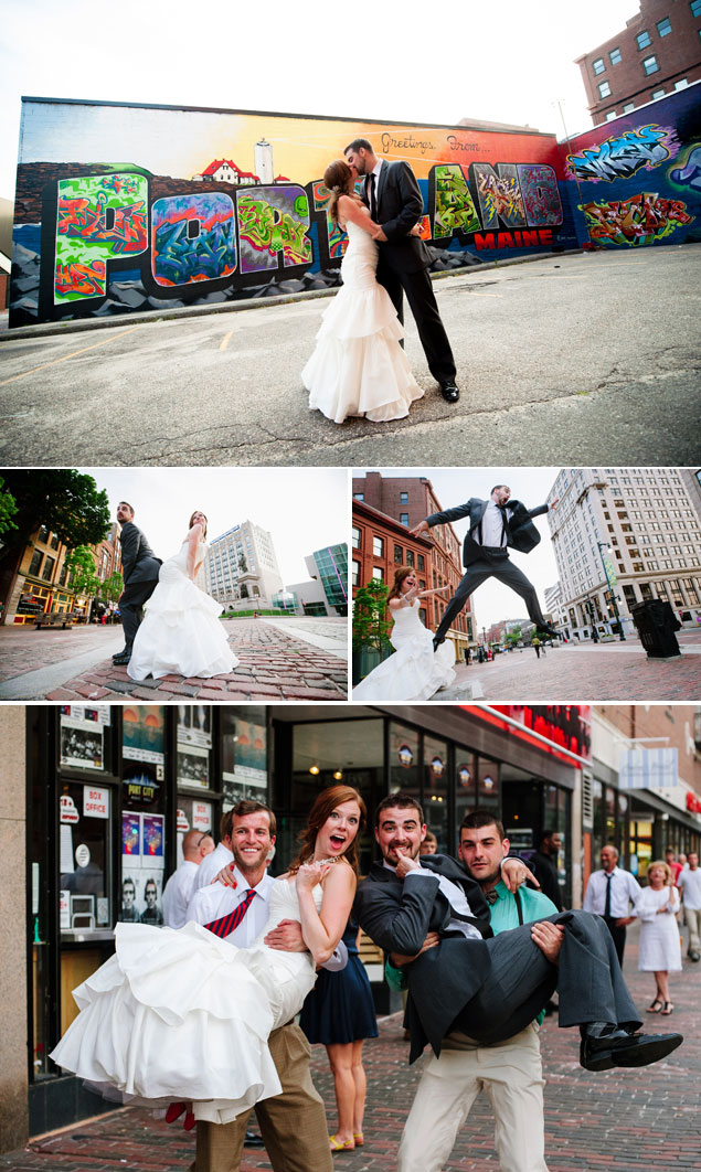 Playful Wedding Photos