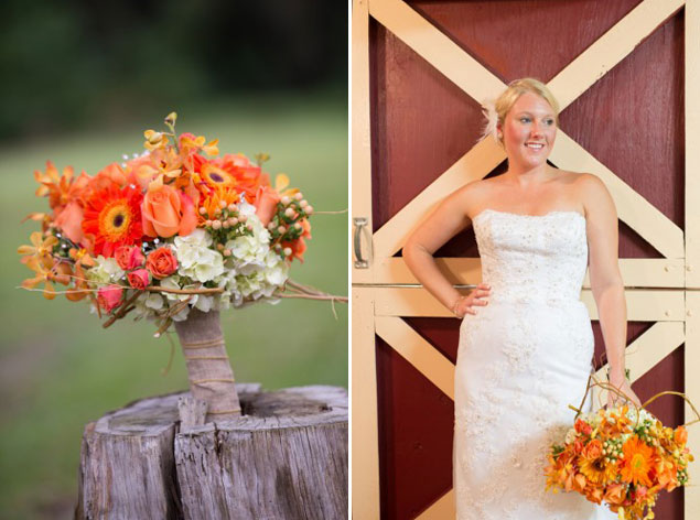 Rustic Orange Bouquet