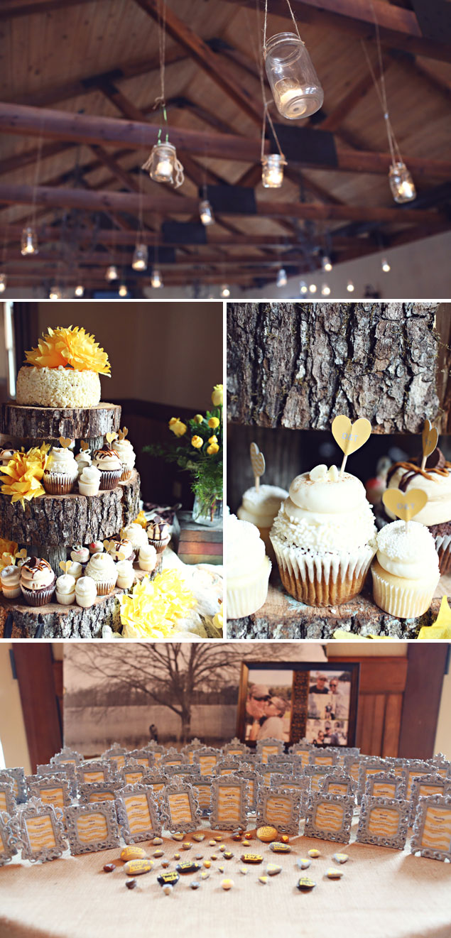 Rustic Wedding Details & Decor