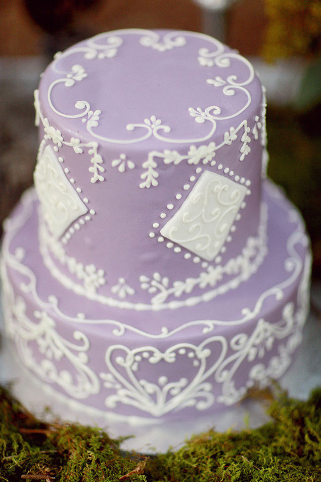 Inspiration purple wedding cakes photo source simply bloom photographypin it junglespirit Images