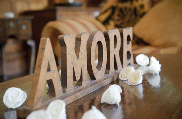Wood Wedding Signs