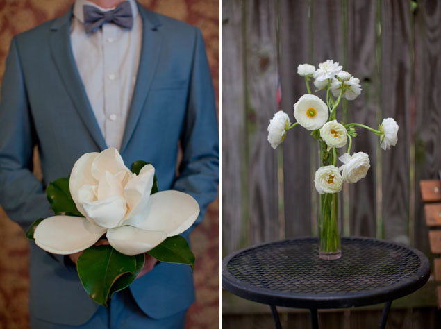 Single Flower Wedding Bouquet