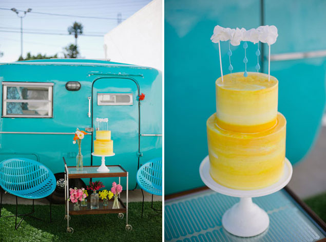 Colorful Wedding Cakes