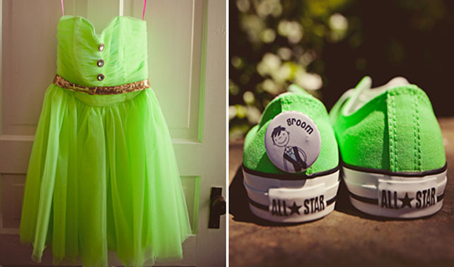 Loving Lime Green Weddings