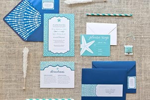 Beach Invitations
