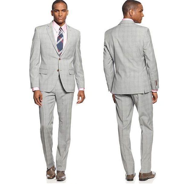 Slim Fit Groom Suits