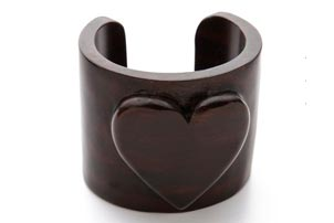 Tory Burch Heart Cuff