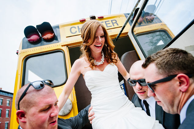 School bus Wedding Transportation