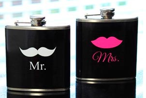 Mr Mrs Flasks