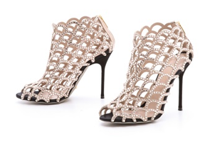 Crystal Lattice Booties