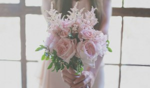Pale Pink Wedding Bouquets