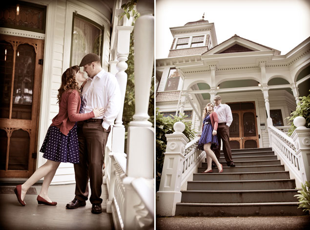 Vintage Style Engagement