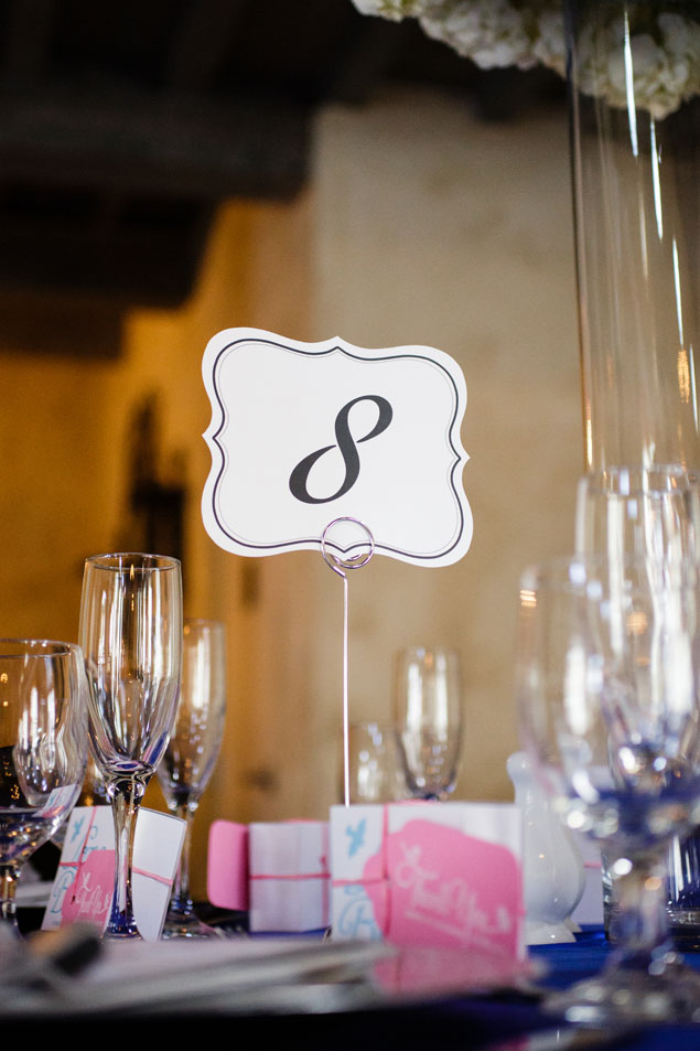 Standing Table Numbers