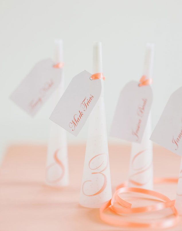 Easy DIY Escort Cards