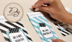 DIY Escort Card Tutorials