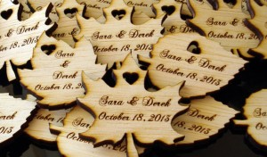 Etched In Time Favors
