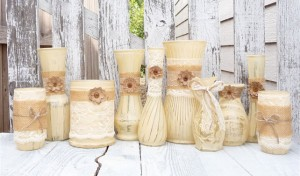 Fall Wedding Vases