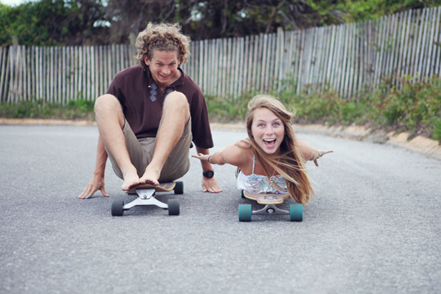 Skateboard Engagement Shoot