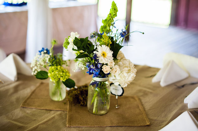 Rustic Wedding Centerpeices