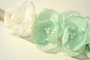 Mint Bridal Sash