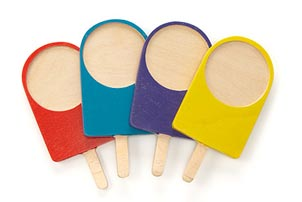 Popsicle Coaster Set