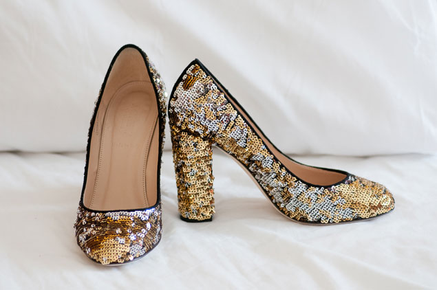 Sequin Wedding Shoes