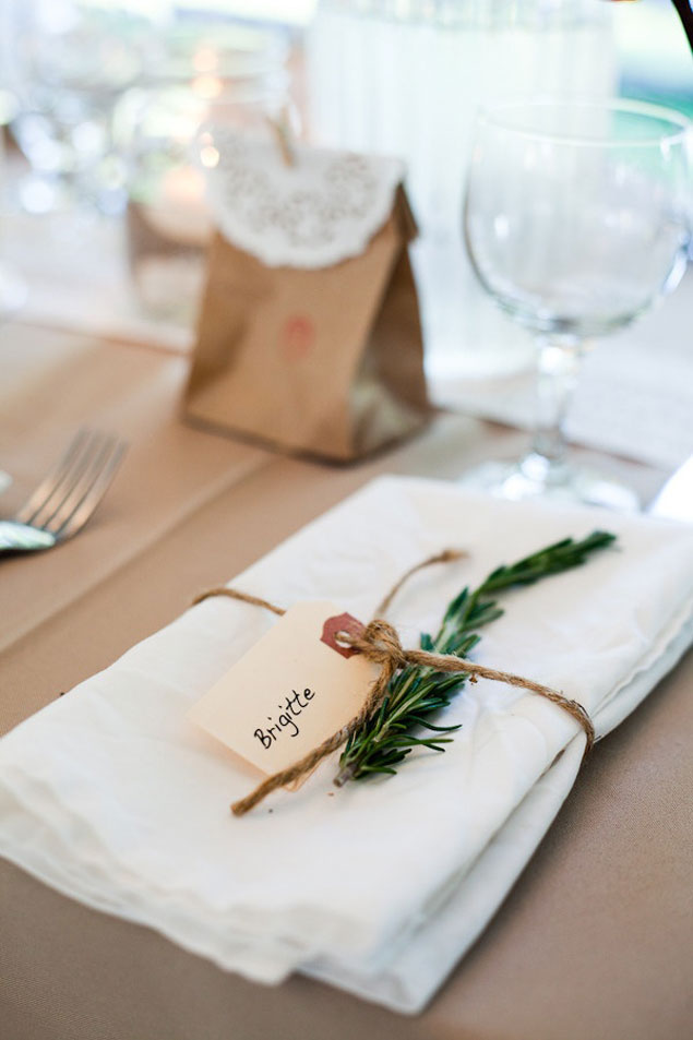 Inspiration Wedding Place Settings