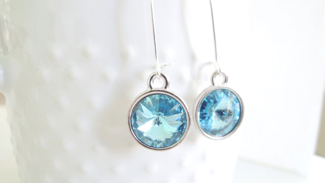 SomethignBlue Wedding Earrings