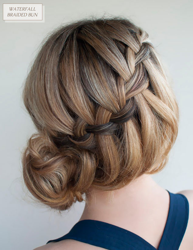 DIY Braid Updo