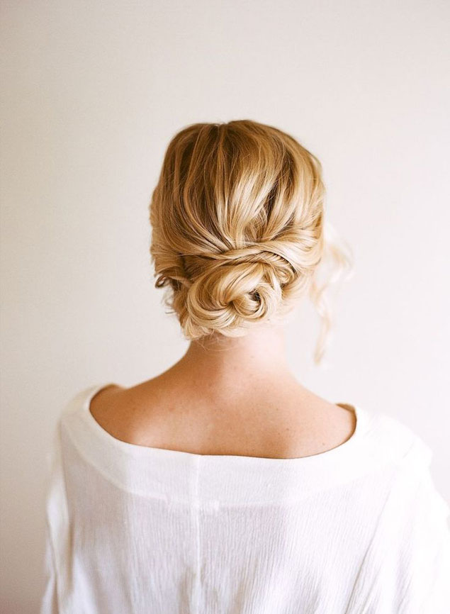 Bridal Hair Low And Loose Hairstyles