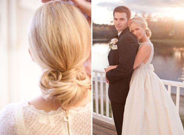 Low Wedding Hairstyle