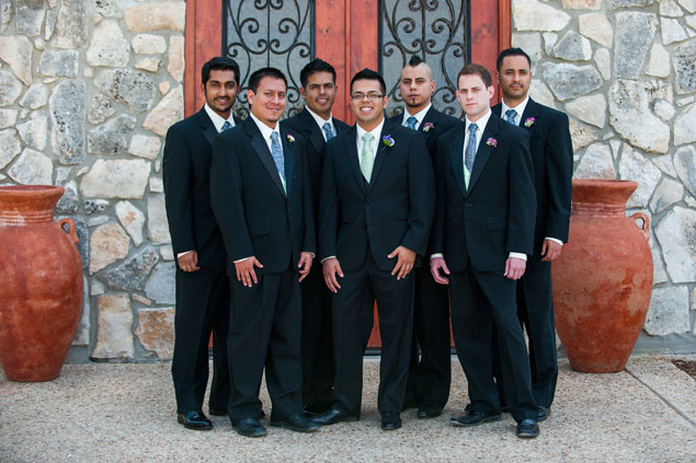 Groom & Groomsmen Photos