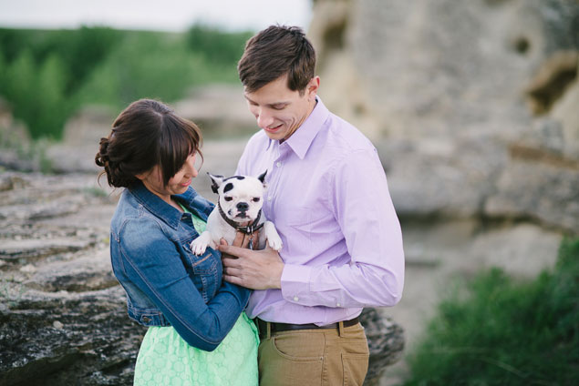 Engagement Shoot with Dogs