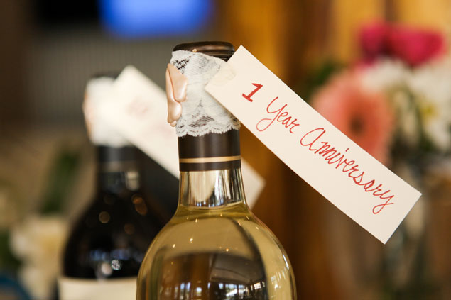 Wine Bottle Guestbook Alternative