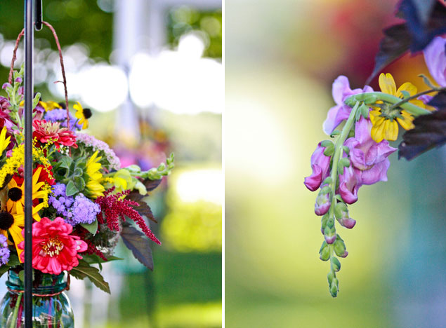 Wildflower Wedding Decor